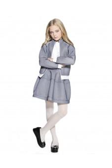 "Комплект куртка и юбка ""соты"""