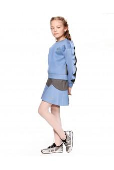 Комплект джемпер и юбка из неопрена