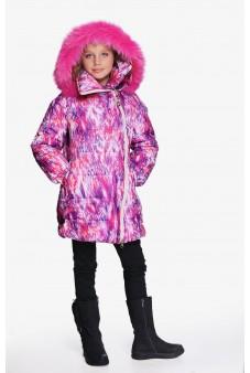 Пальто с асимметричной молнией