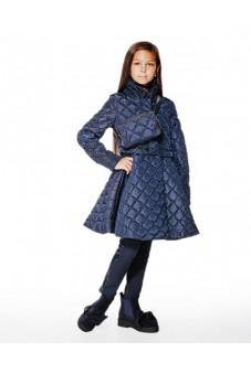 Пальто-клёш с жемчугом
