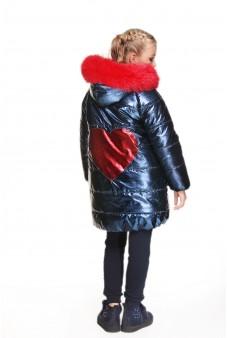"""Пальто с отделкой """"сердце"""""""