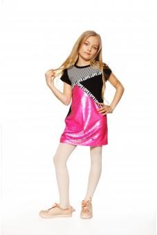 Платье с пайетками-перевёртышами