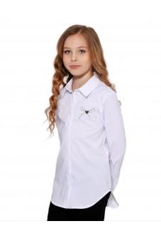 Блуза с аппликацией