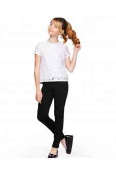 Блуза с гипюром