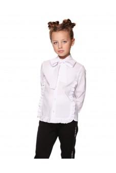 Блуза з бантом