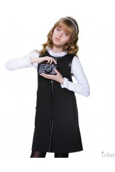 Платье с застёжкой по переду